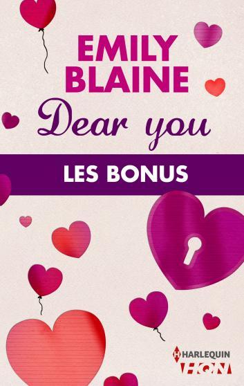 Dear You - Les Bonus d'Emily Blaine 9782280301831
